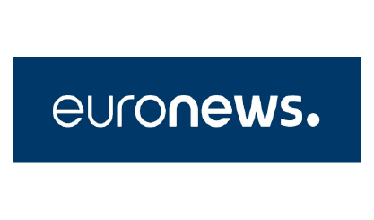 Euronews Logo Super Recognisers International - Kent, England - Main background